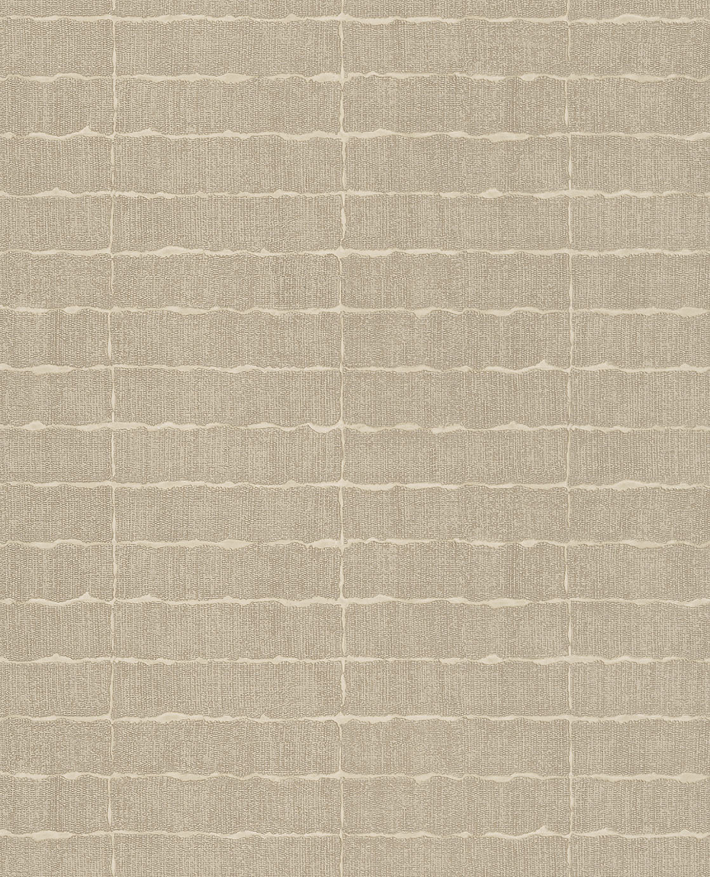 Picture of Batna Taupe Brick Wallpaper