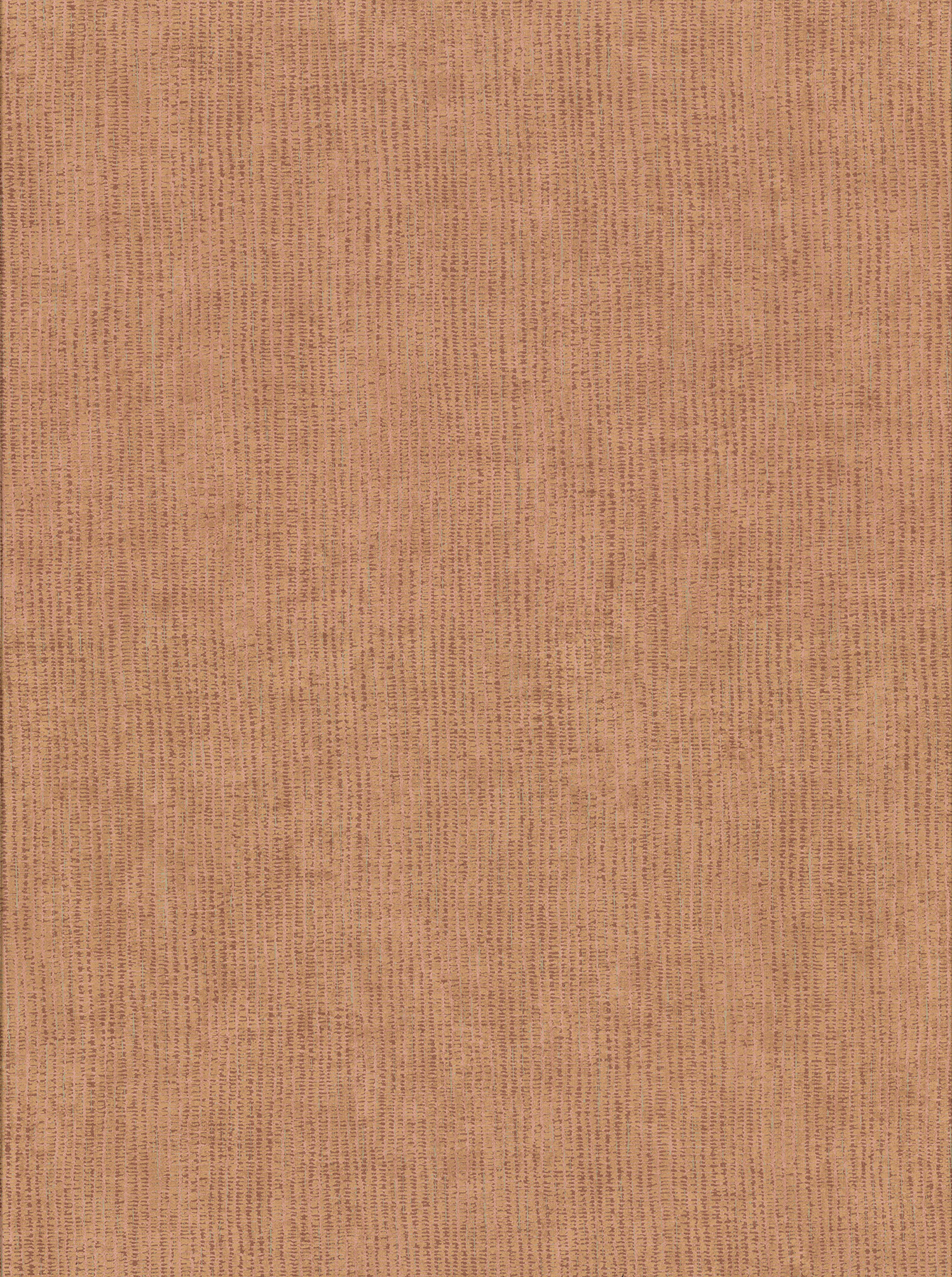 Picture of Bayfield Coral Weave Texture Wallpaper