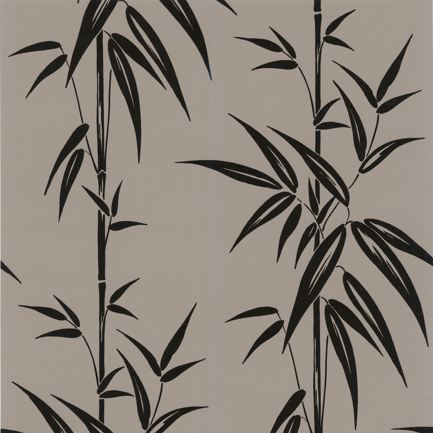 Picture of Asuka Pewter Bamboo Wallpaper