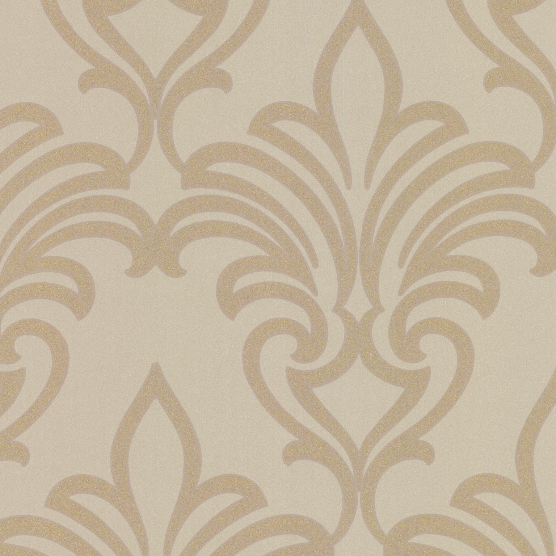 Picture of Arras Gold New Damask Wallpaper