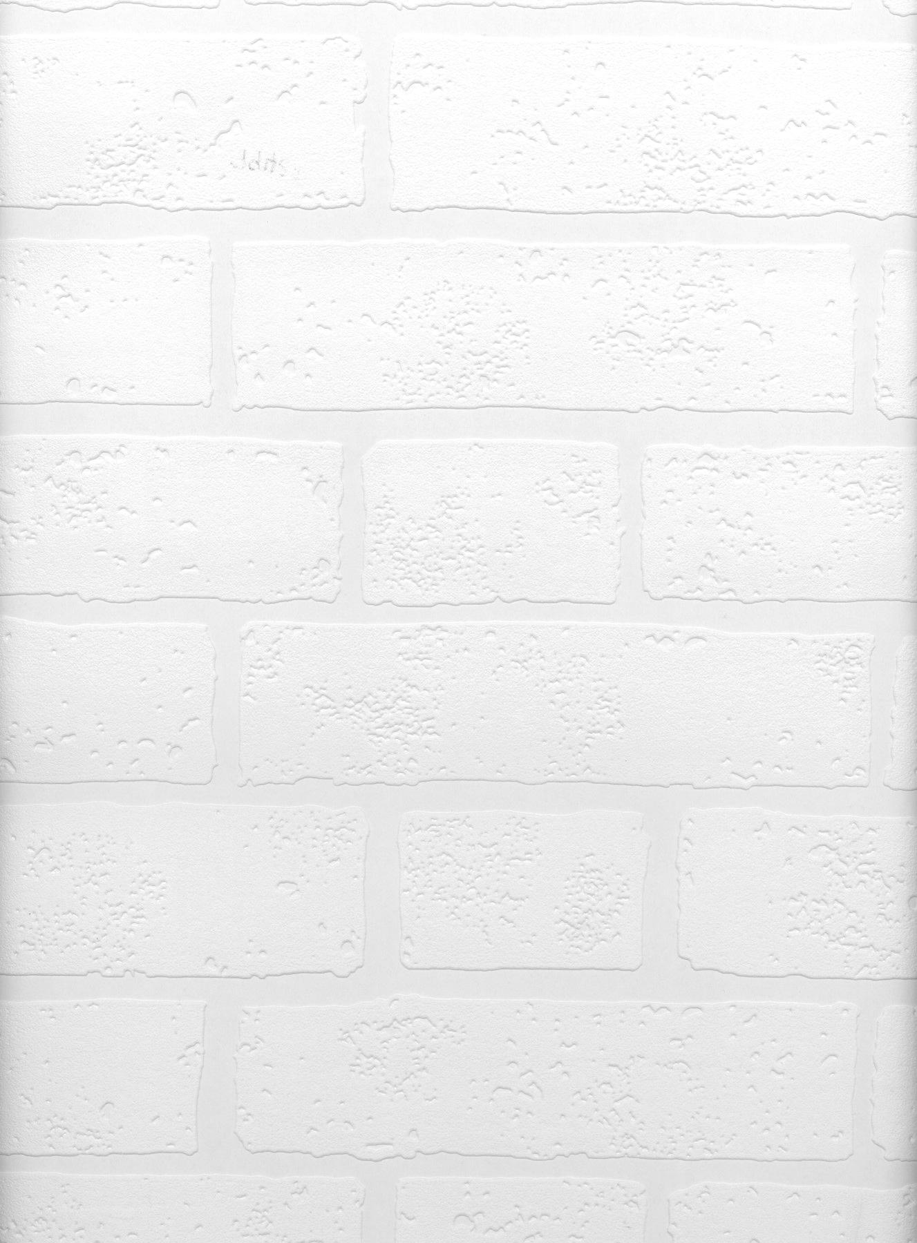 Picture of Belden Brick Texture Paintable Wallpaper