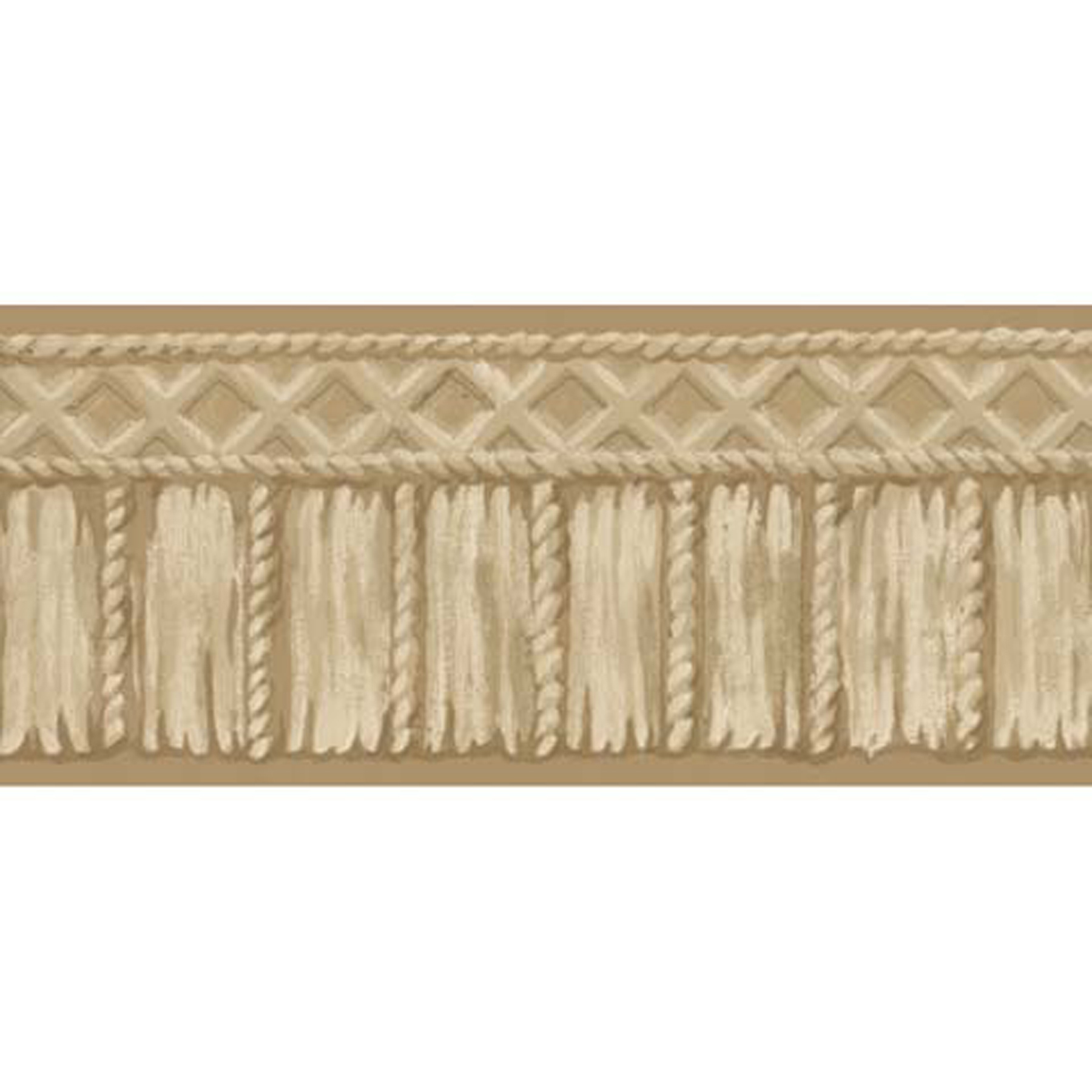 Picture of Beige Tribal Rope Border
