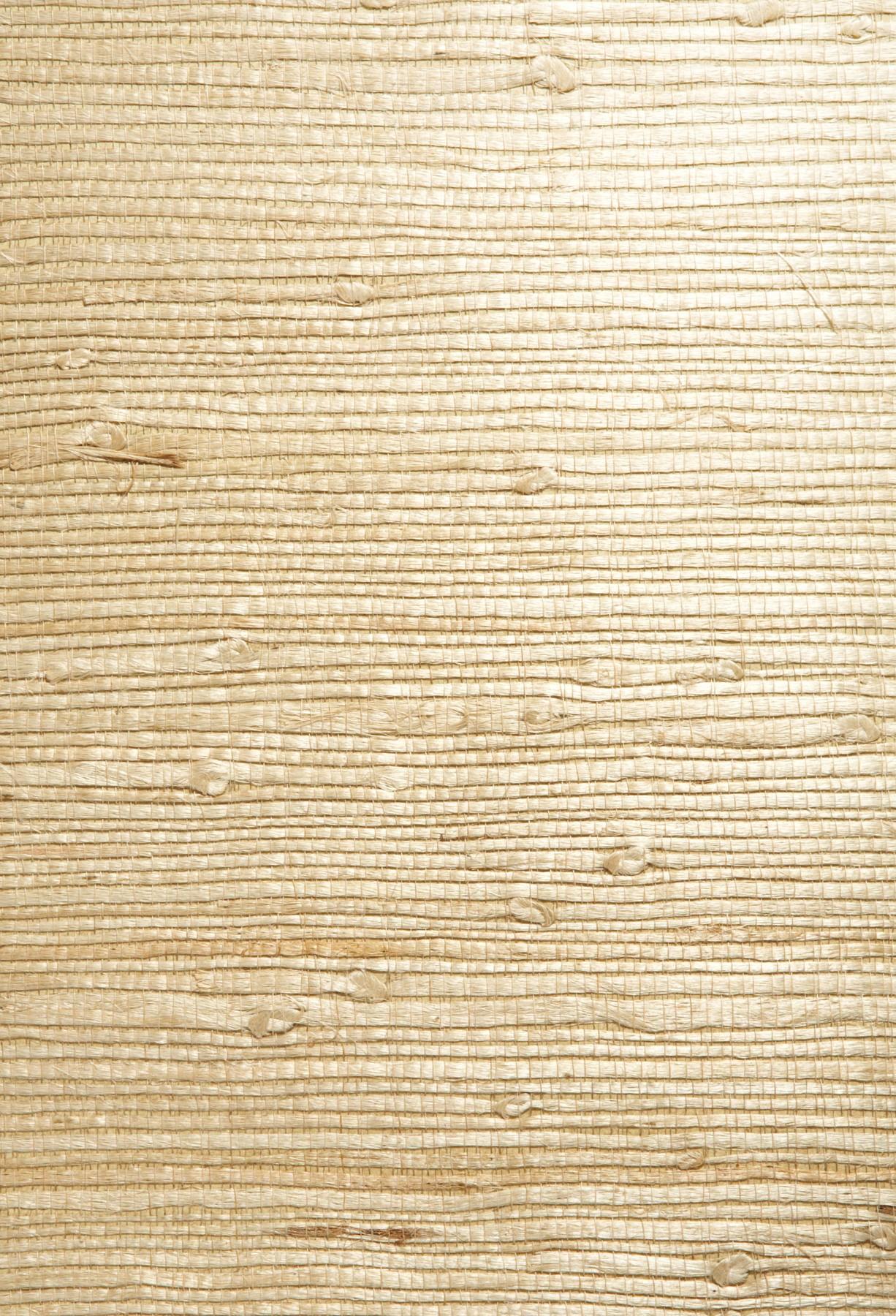 Picture of Bing Qing Beige Grasscloth Wallpaper