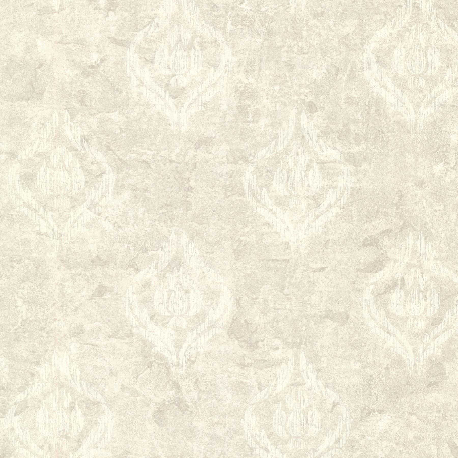 Picture of Benza Light Grey Small Textured Damask Wallpaper