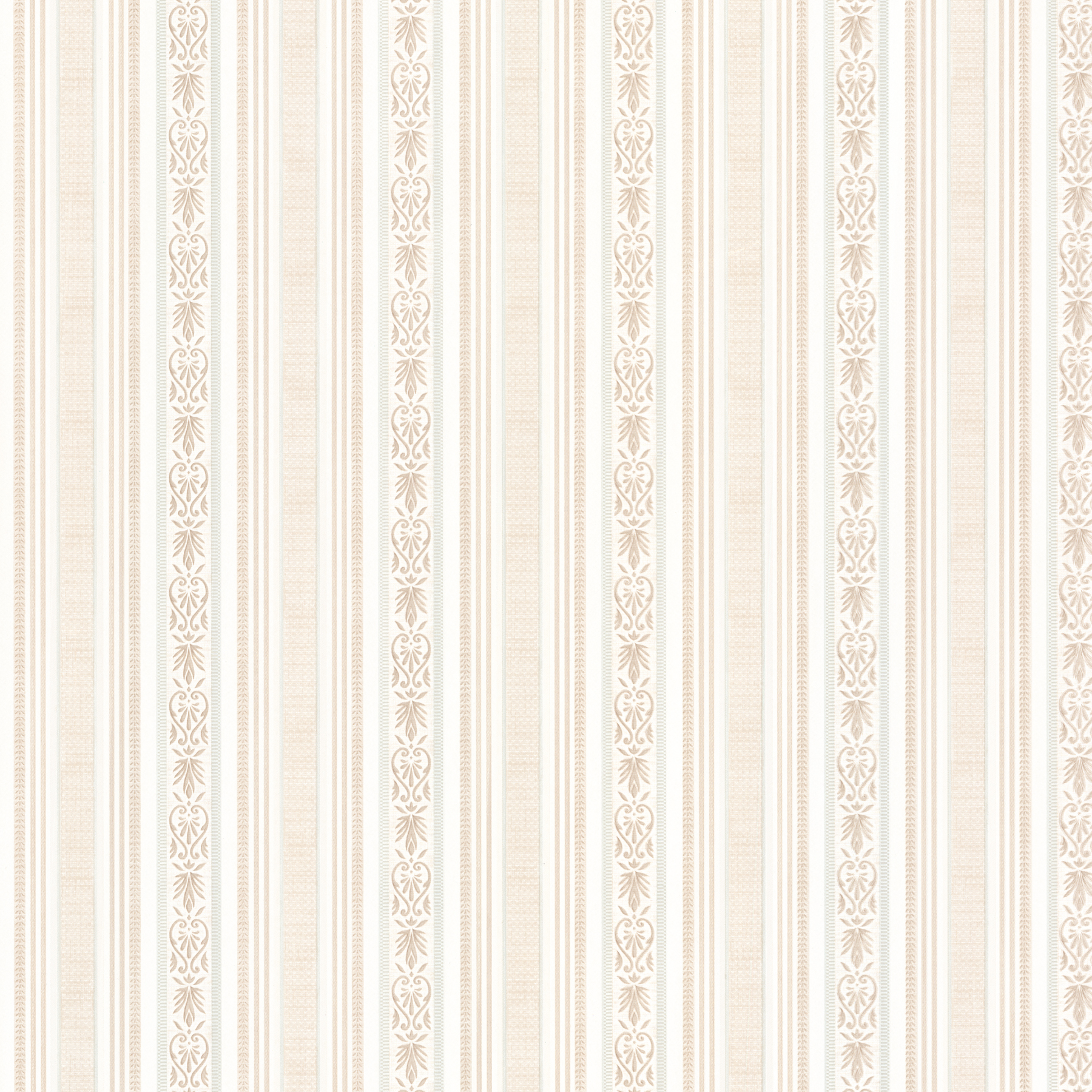 Picture of Baptista Taupe Stripe Wallpaper