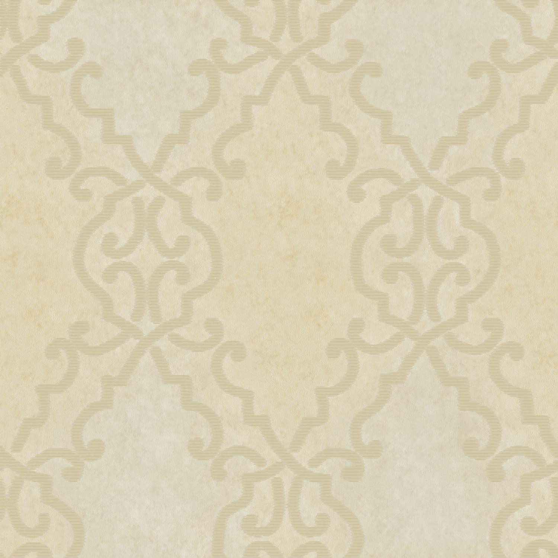 Picture of Bernaud Beige Persian Diamond Wallpaper