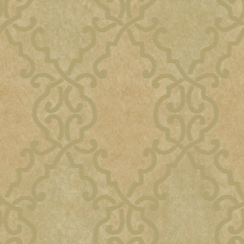 Picture of Bernaud Gold Persian Diamond Wallpaper
