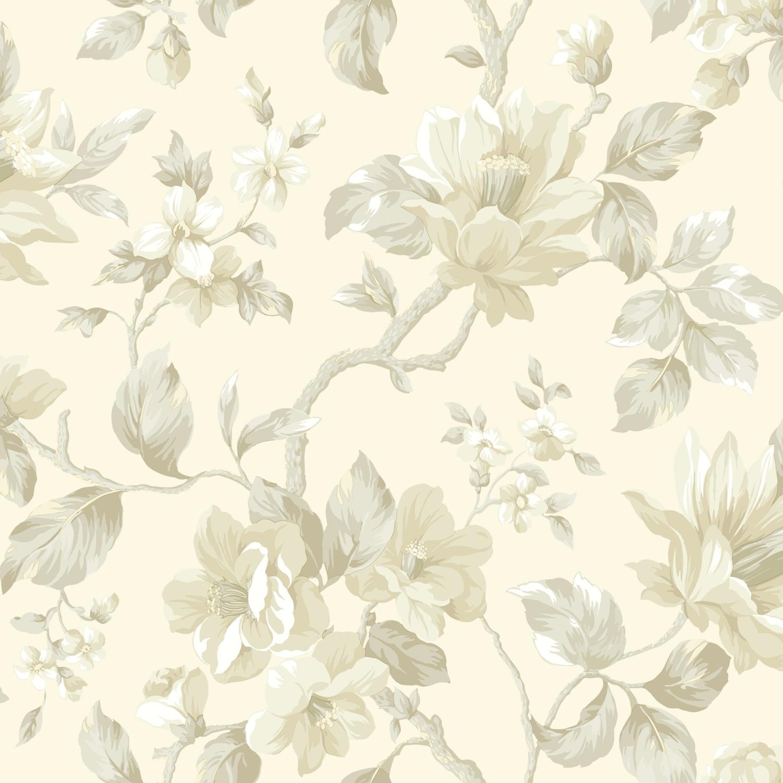 Picture of Berkin Rose Large Floral Vine Wallpaper