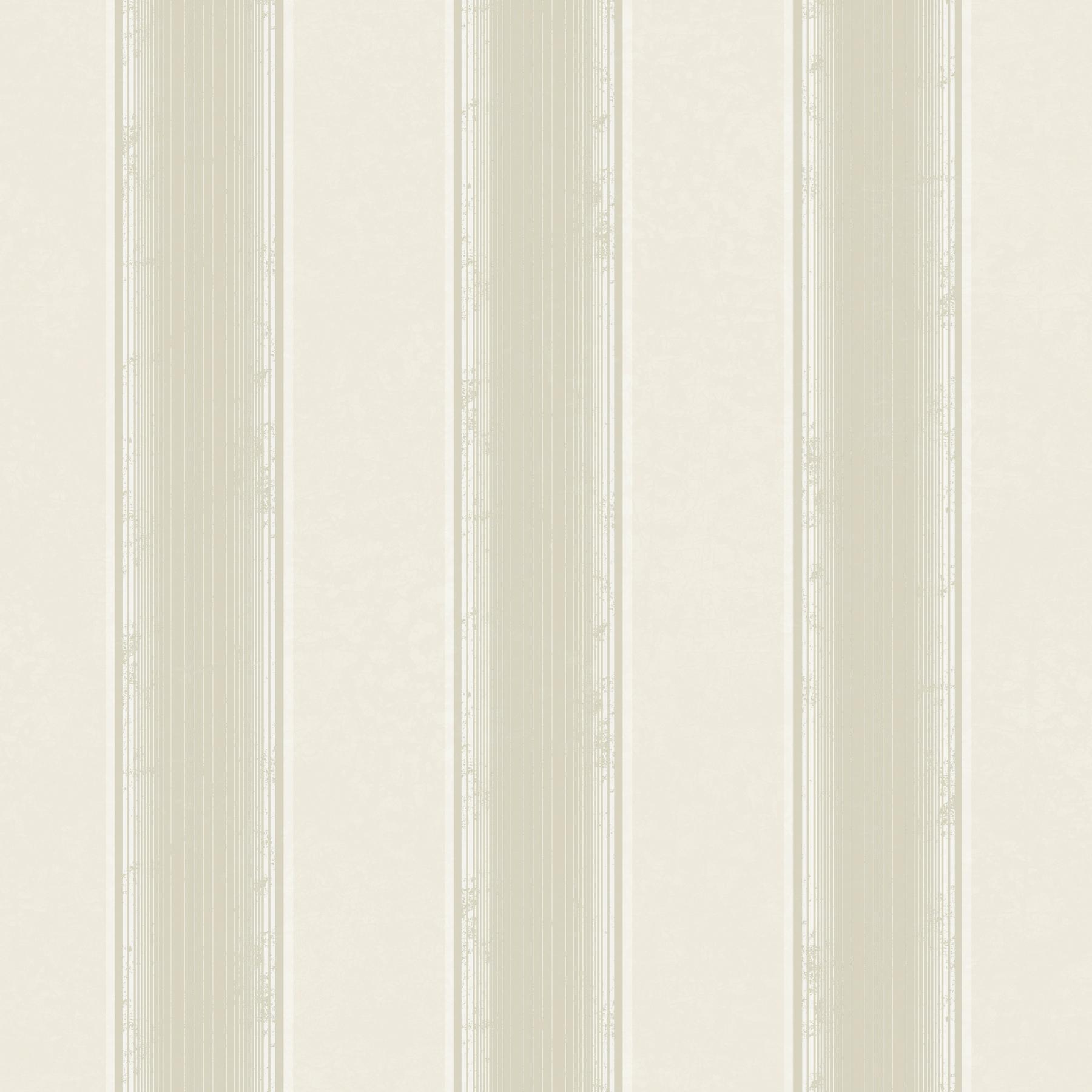 Picture of Arabelle Beige Stripe Wallpaper