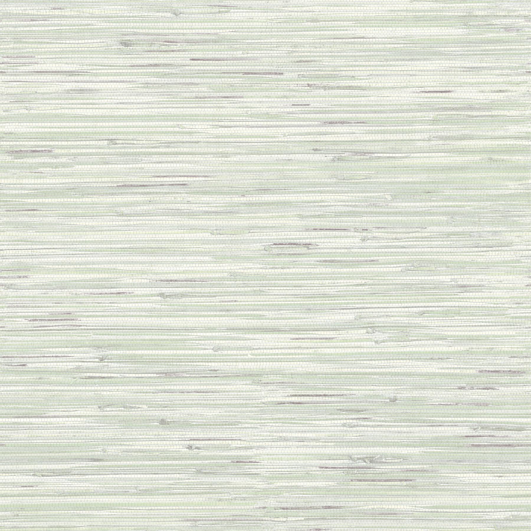 Picture of Autumn Breeze Mint Faux Grasscloth Wallpaper