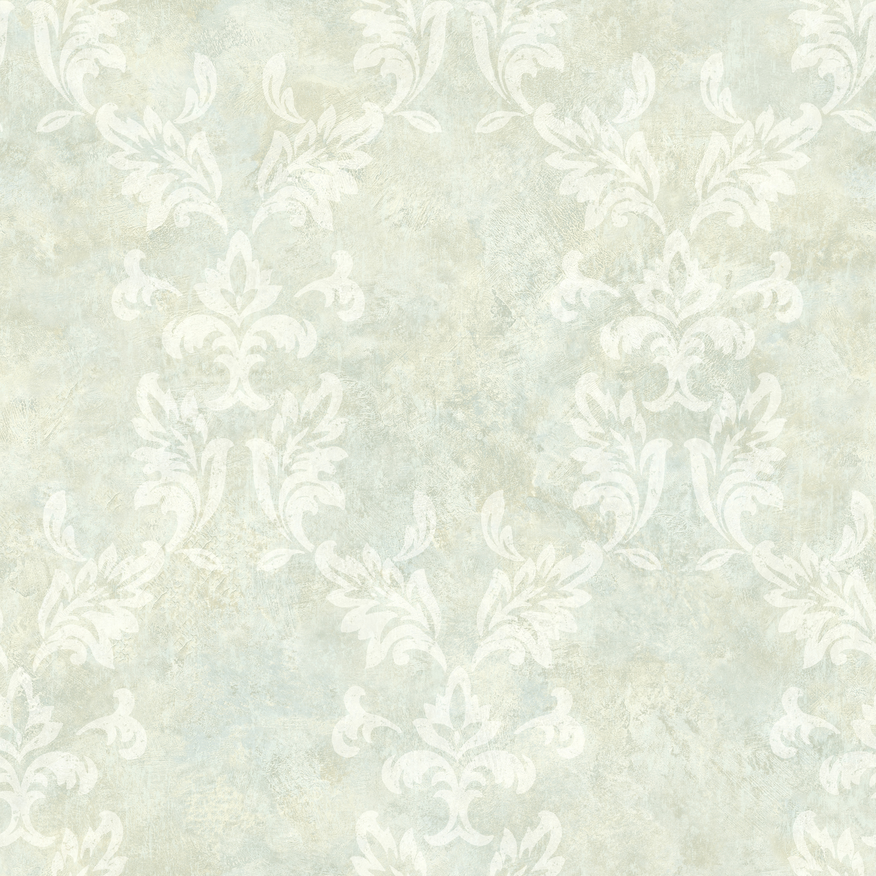Picture of Bentley Mint Damask Wallpaper