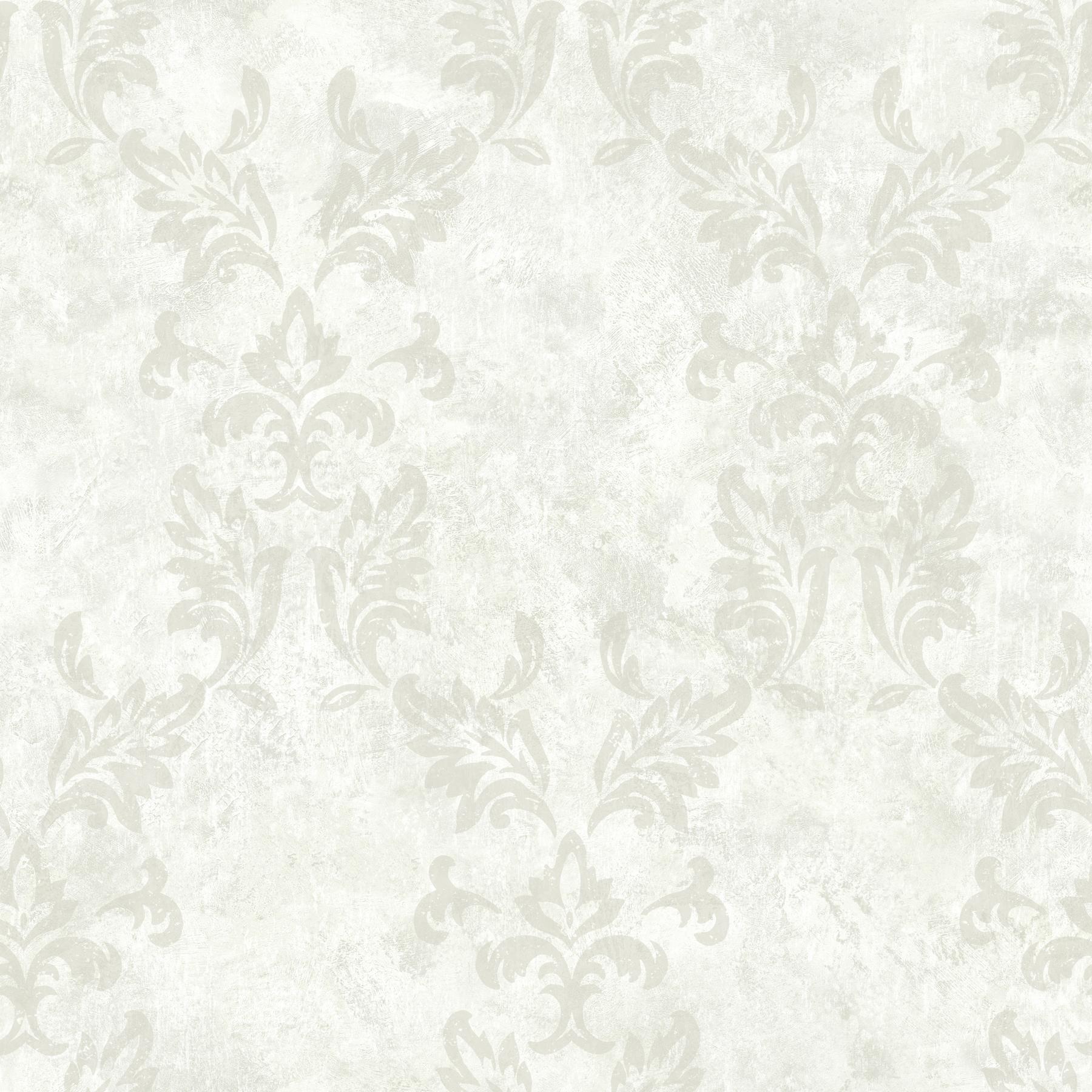 Picture of Bentley Cream Damask Wallpaper