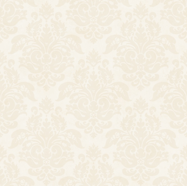 Picture of Beige Peony Damask Wallpaper