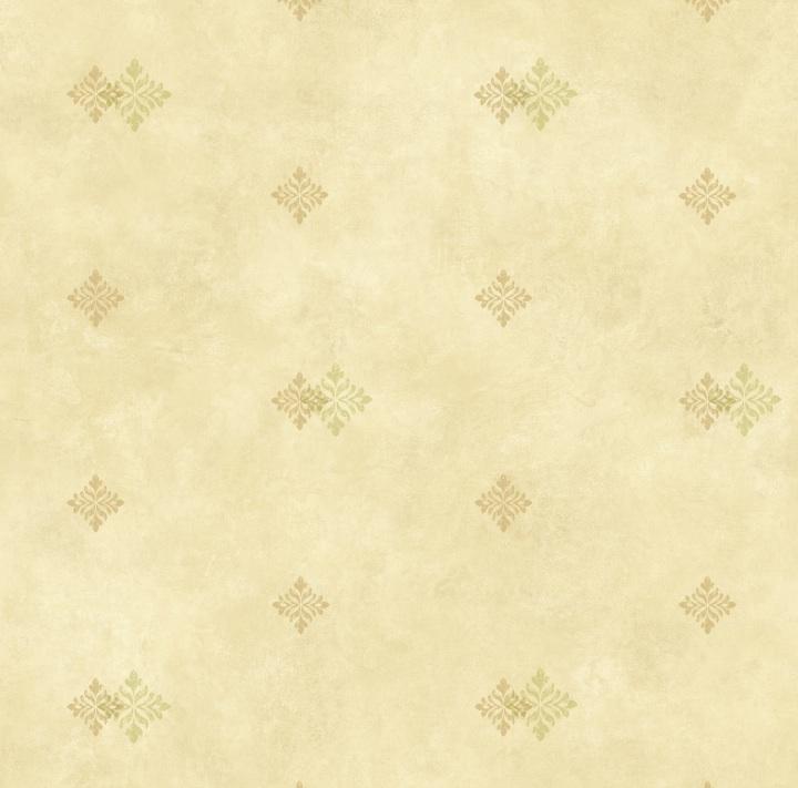 Picture of Beige Diamond Medallion Wallpaper