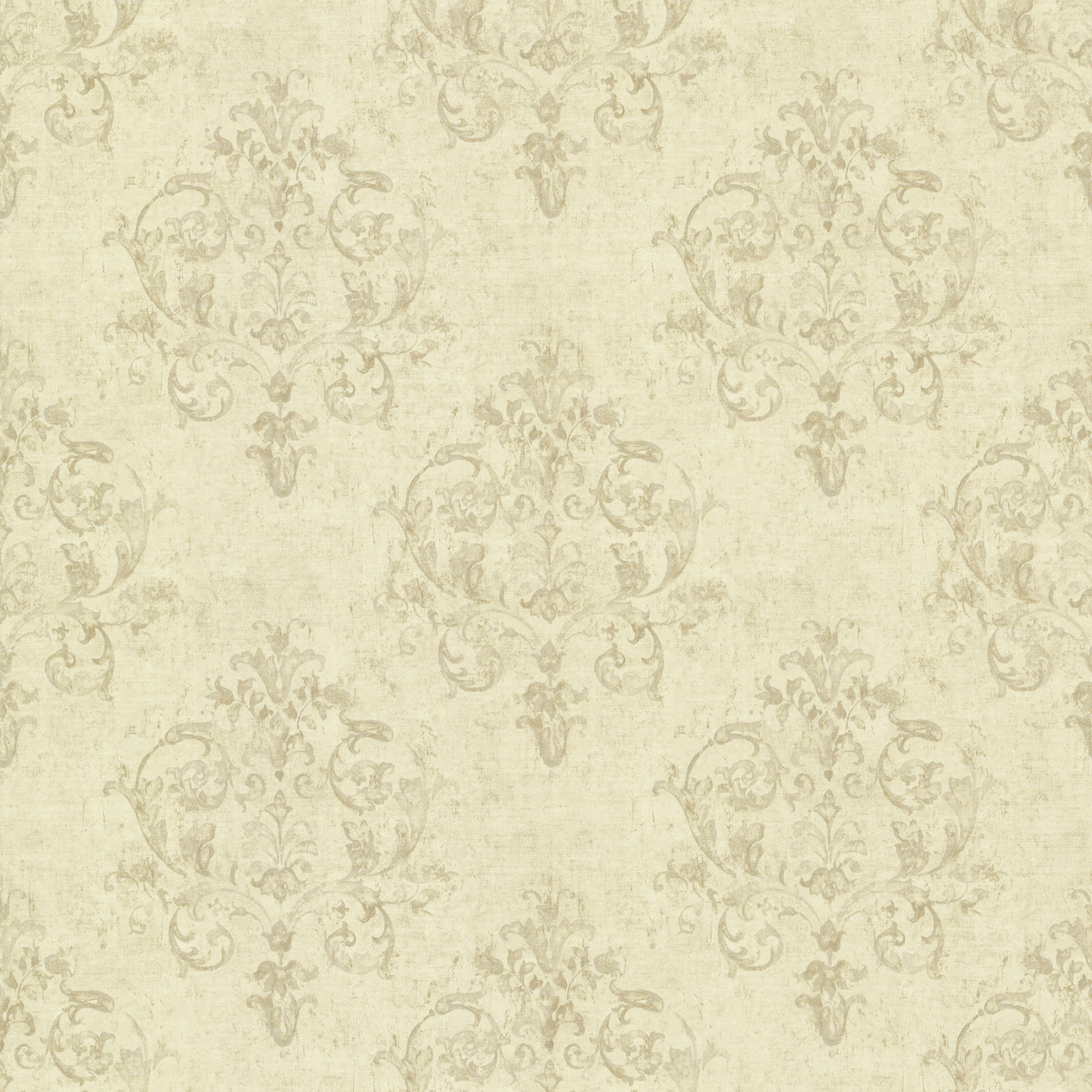Picture of Arronsburg Wheat Damask Wallpaper