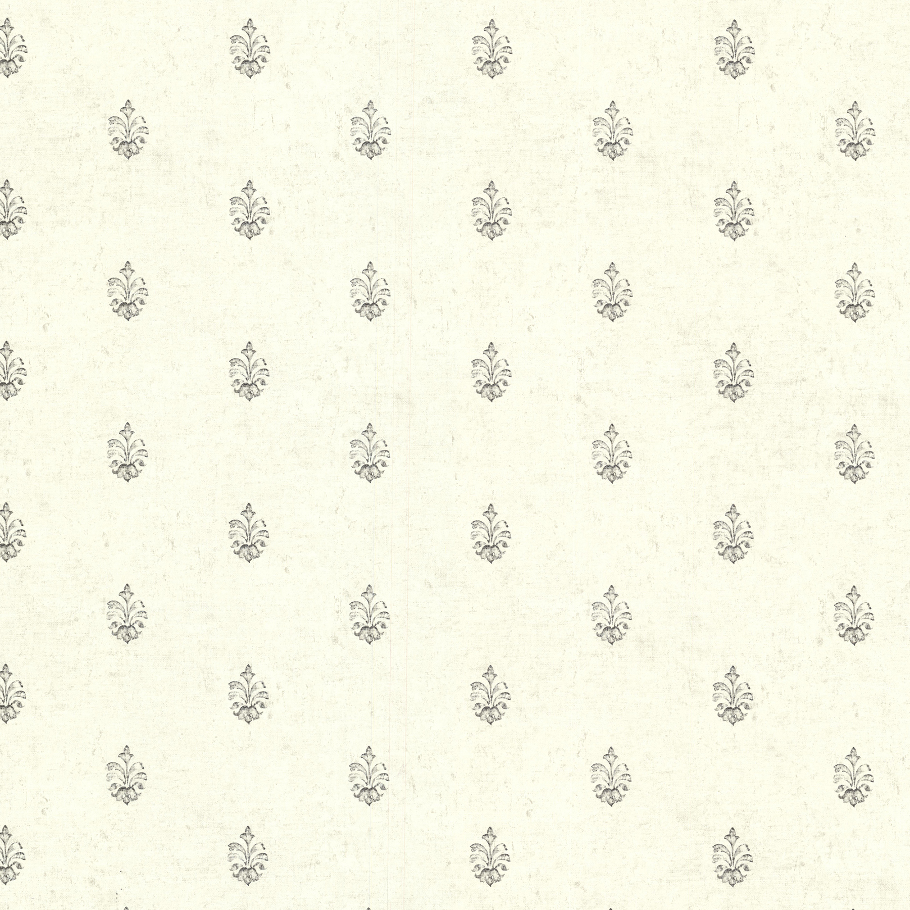 Picture of Bristol Ivory Medallion Toss Wallpaper
