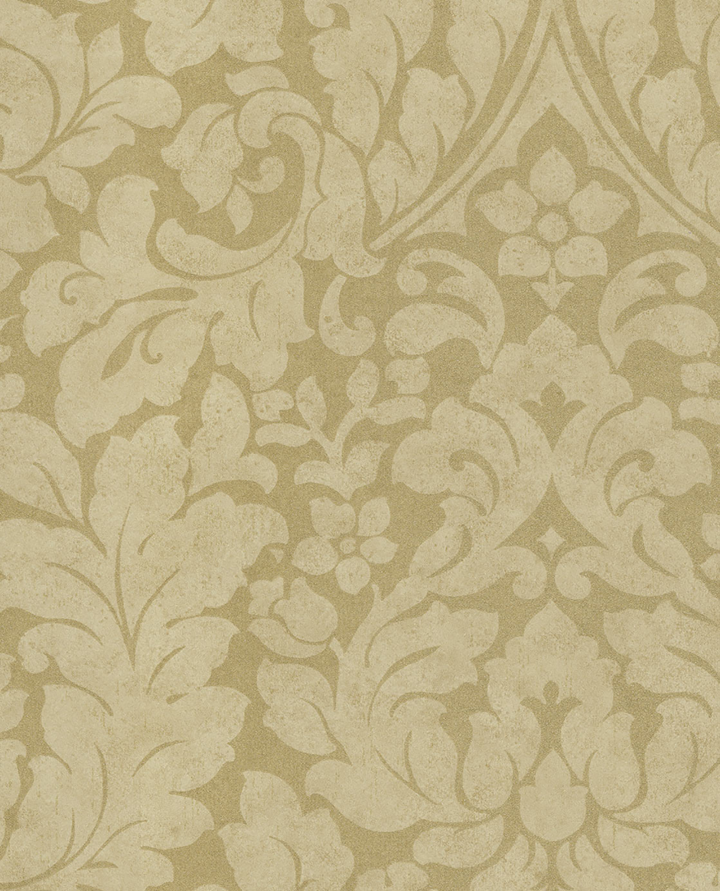 Picture of Arvid Beige Damask Wallpaper