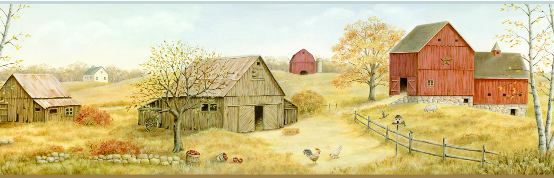 Picture of Brown Farmstead Border