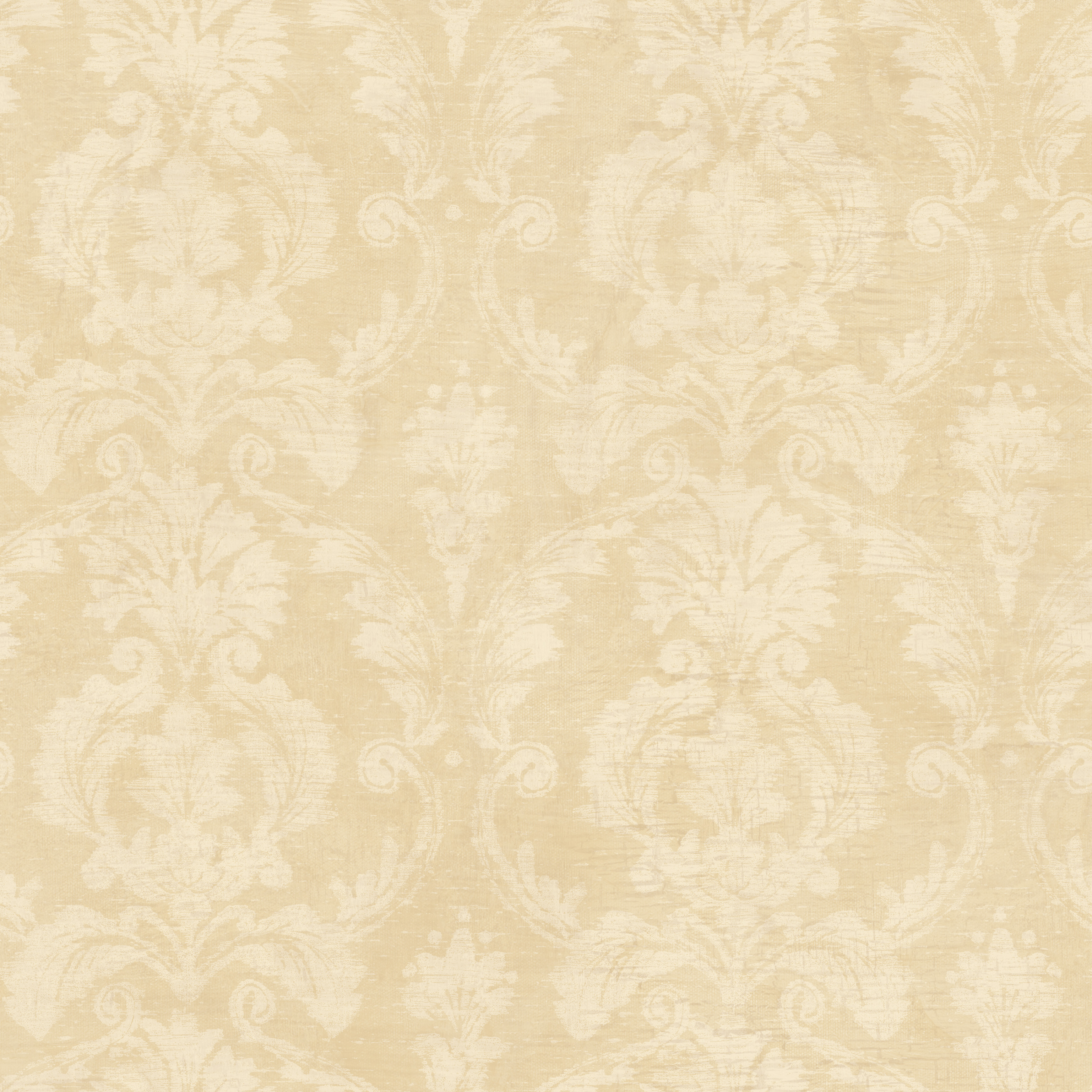 Picture of Bristol Taupe Torch Damask Wallpaper Wallpaper
