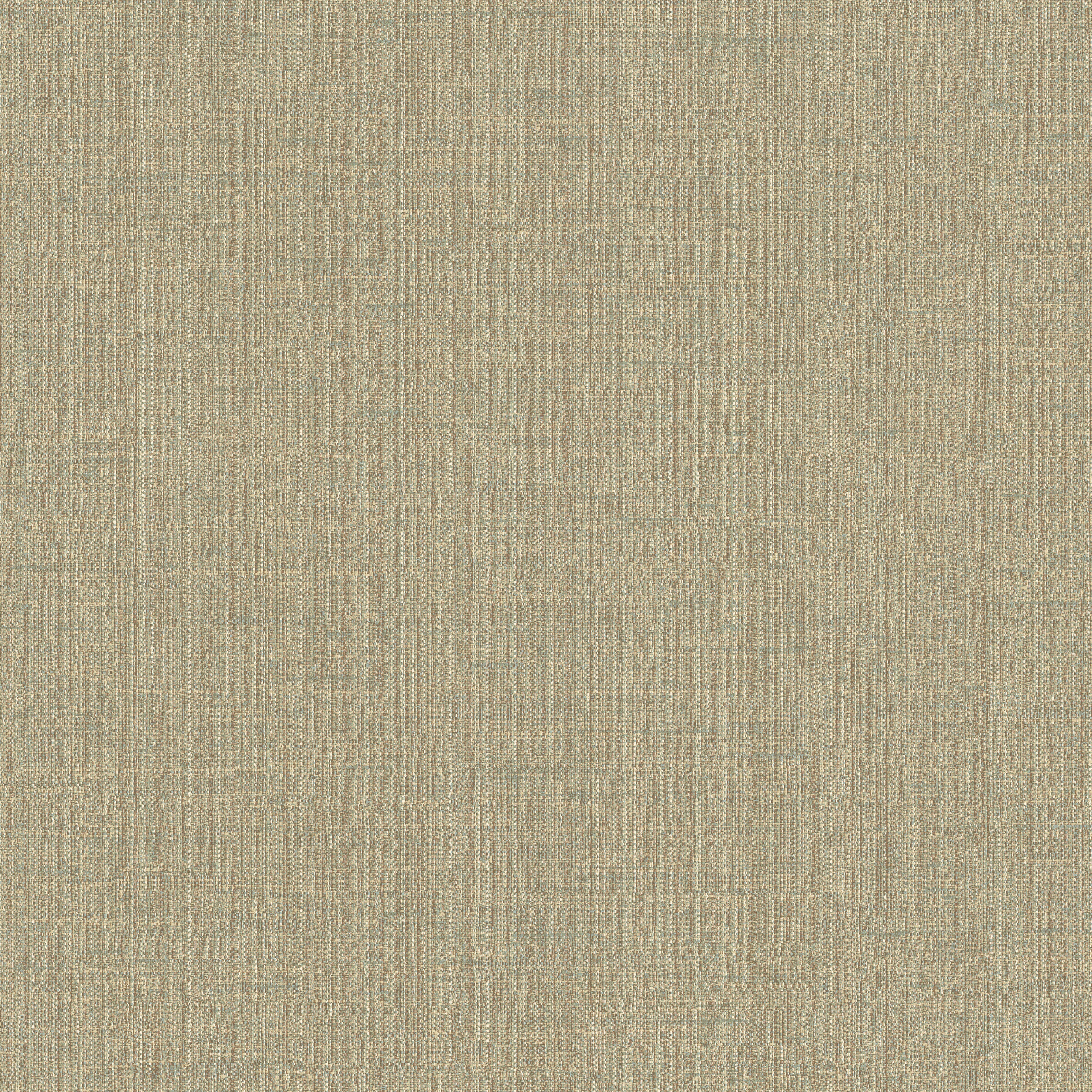 Picture of Berge Green Natural Linen Faux Effect Wallpaper Wallpaper