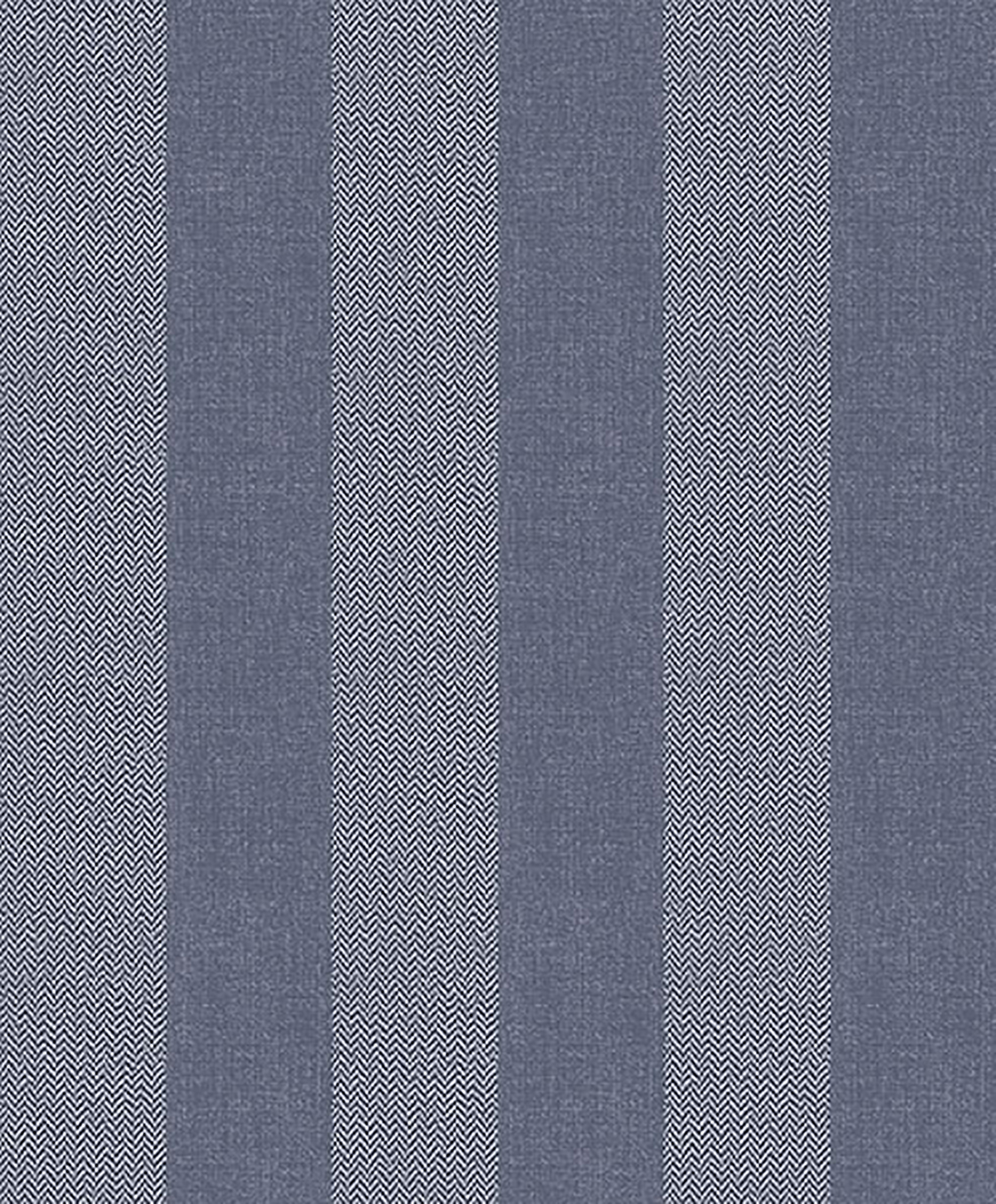 Picture of Audrey Blue Tweed Stripe Wallpaper