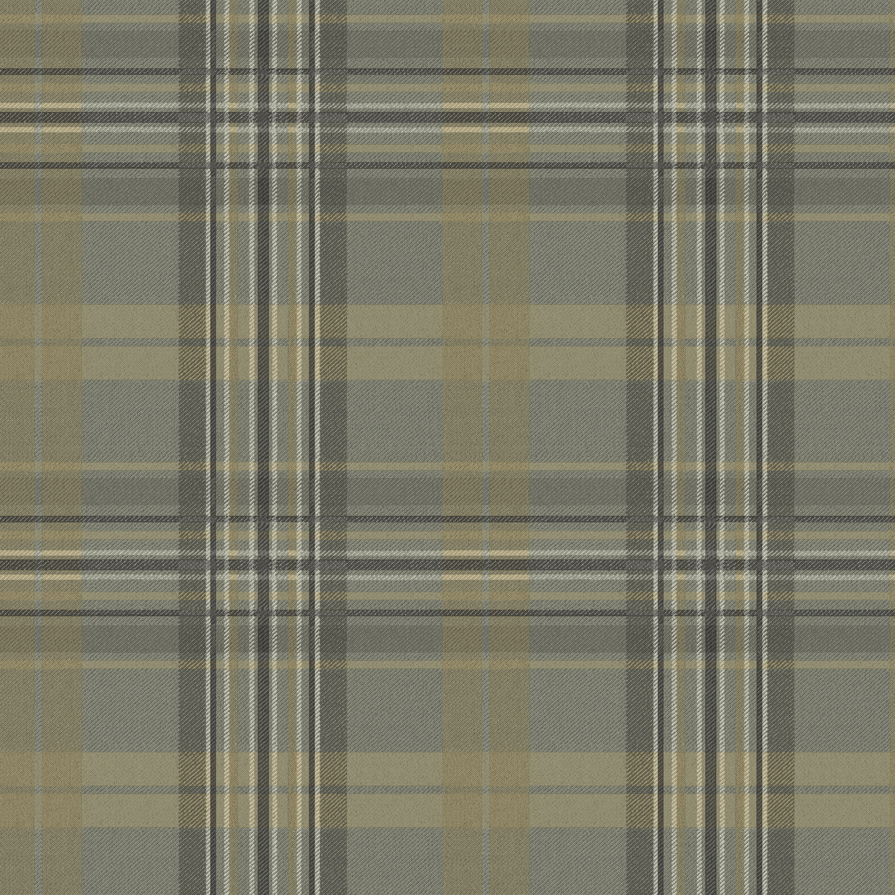 Picture of Austin Charcoal Plaid Wallpaper