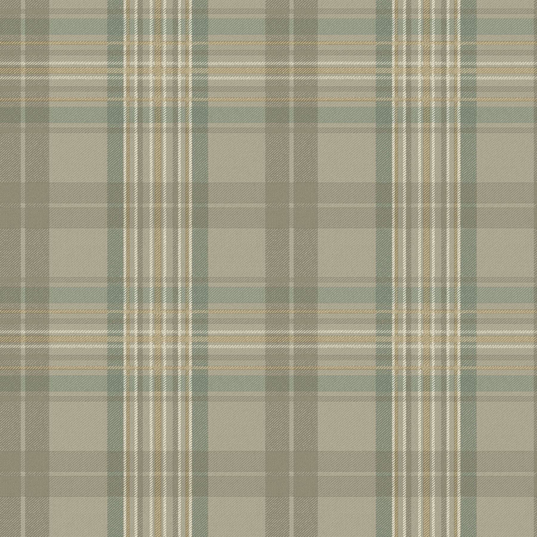 Picture of Austin Grey Plaid Wallpaper