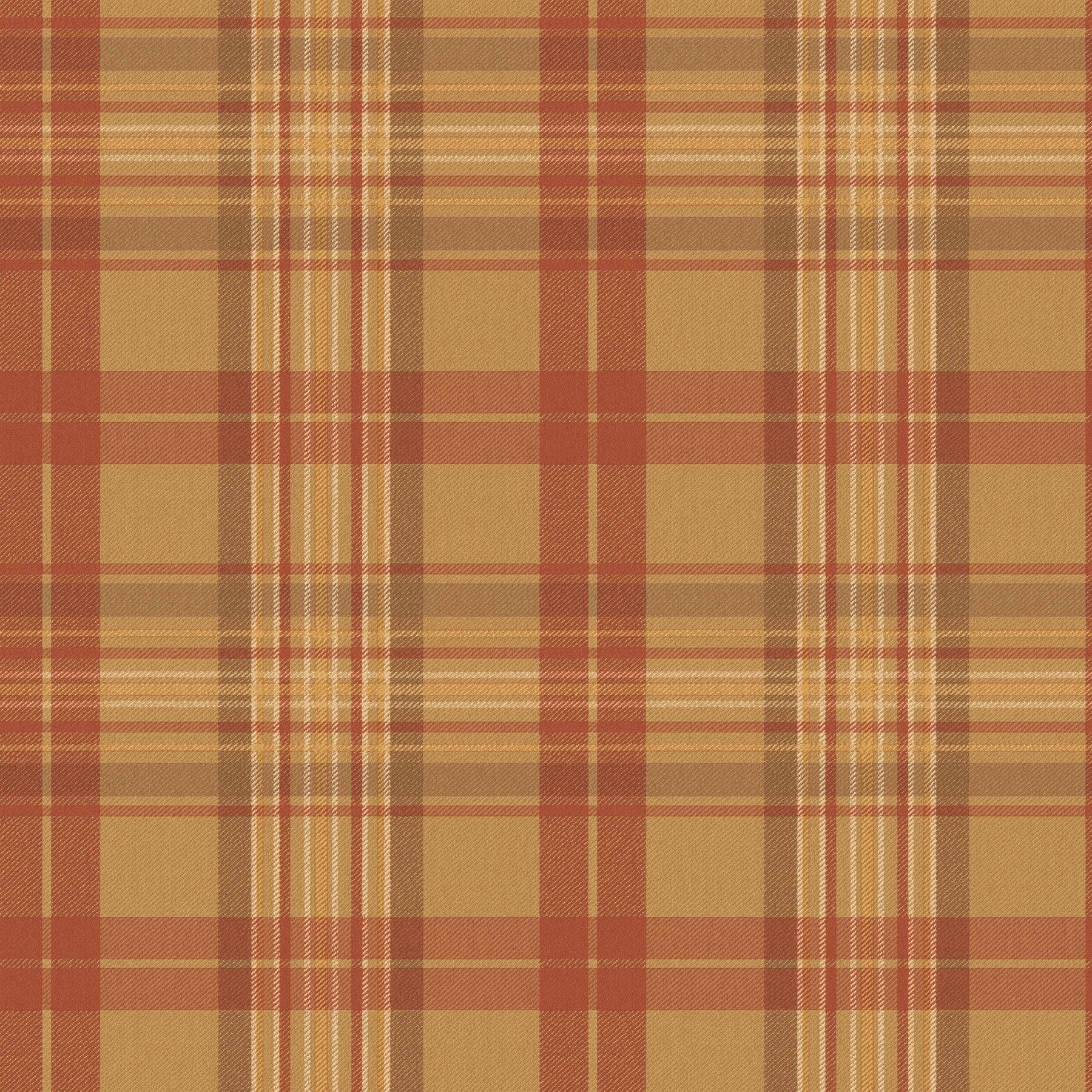 Picture of Austin Red Plaid Wallpaper