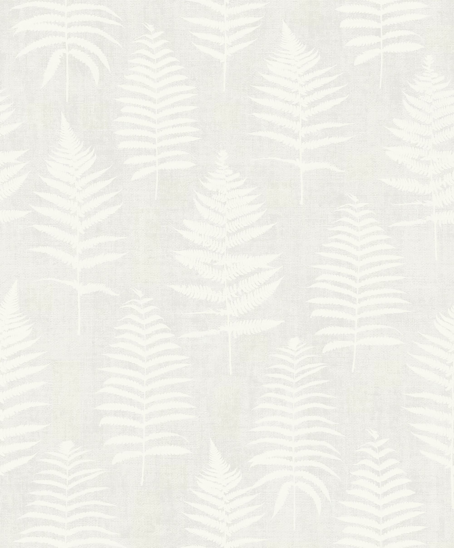 Picture of Bracken Light Grey Fern Wallpaper