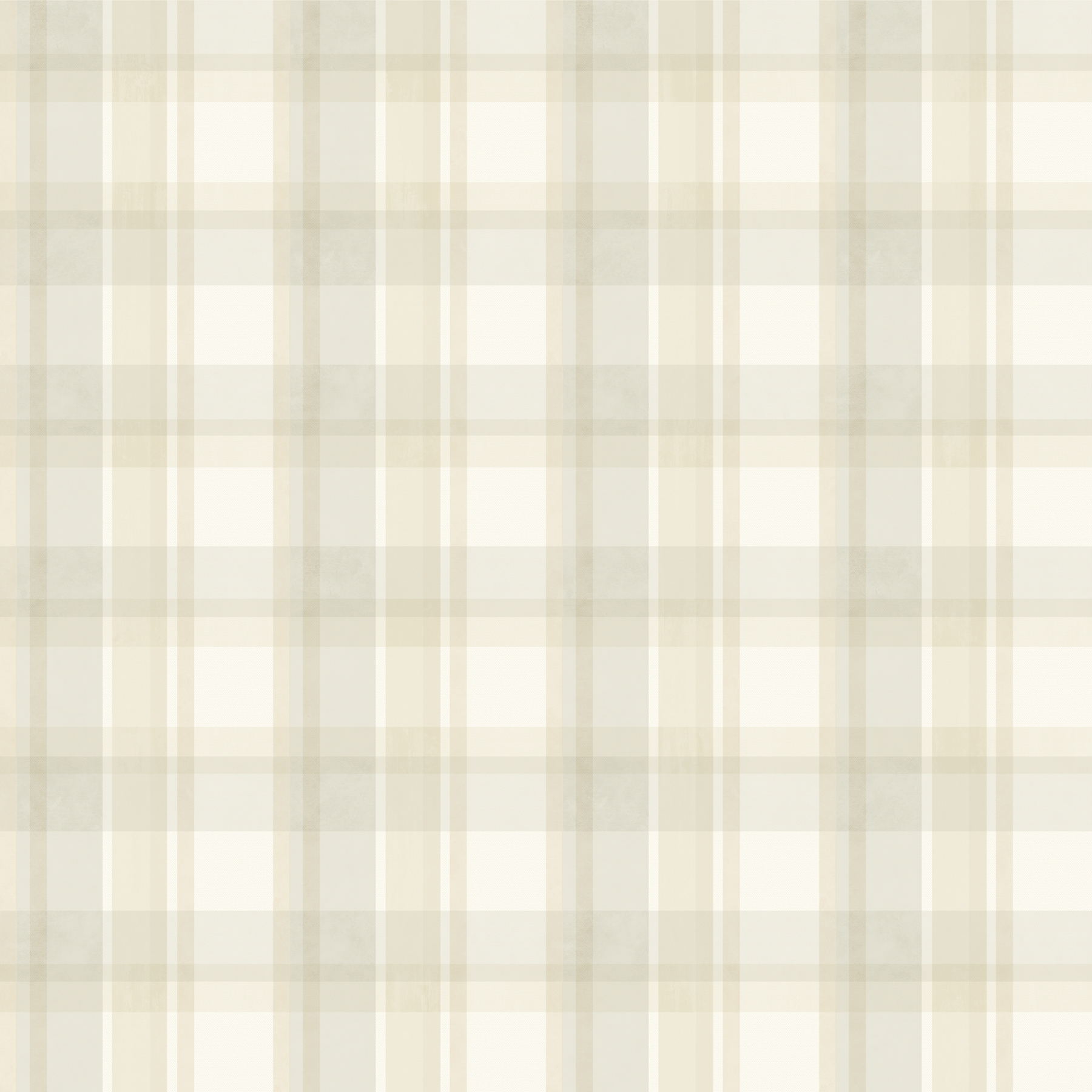 Picture of Bennetts Grey Sunday Plaid Wallpaper