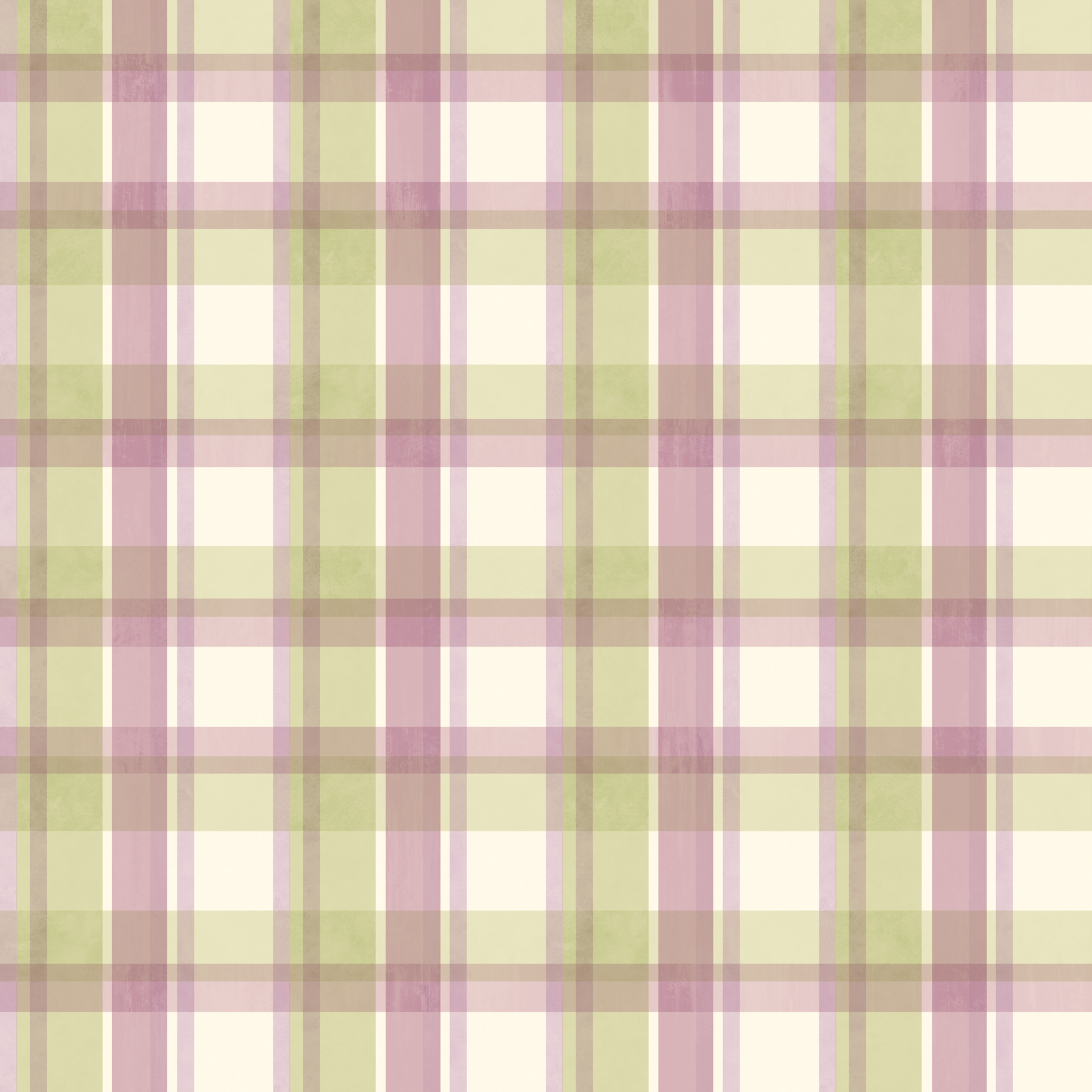 Picture of Bennetts Green Sunday Plaid Wallpaper