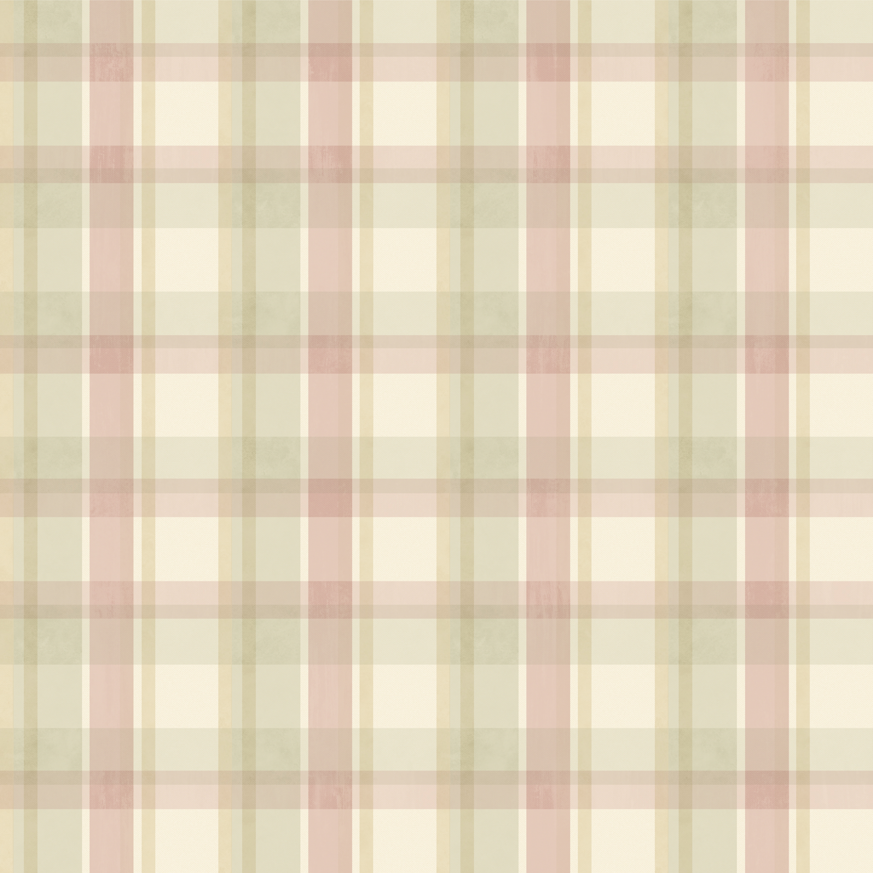 Picture of Bennetts Pink Sunday Plaid Wallpaper