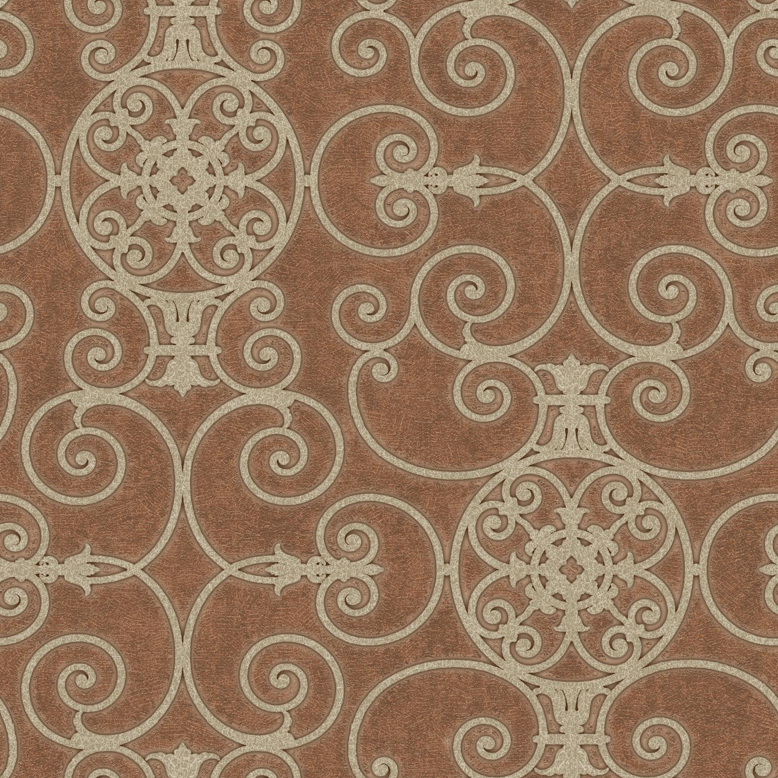 Picture of Belleek Ironwork Bronze Wallpaper