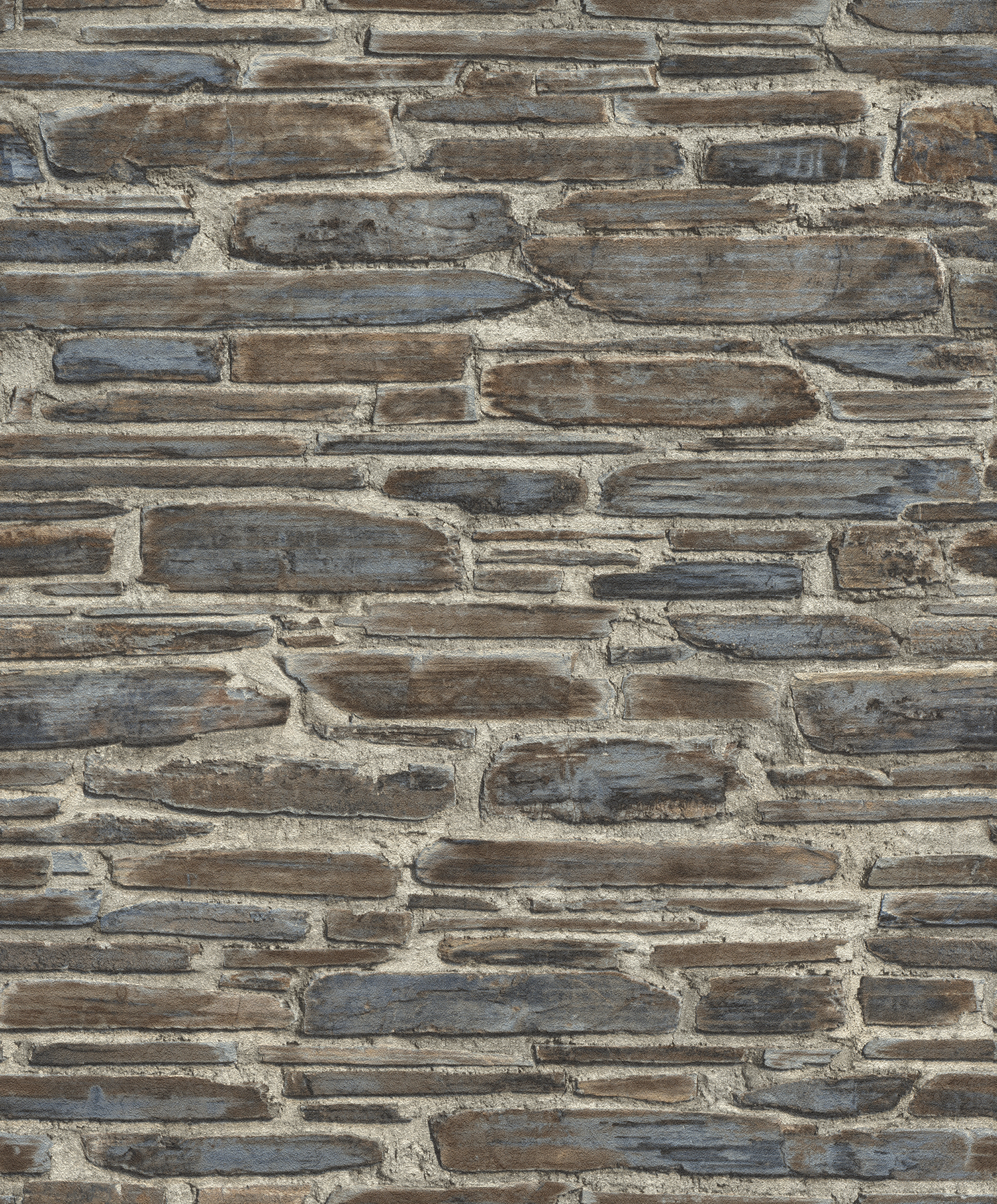 Picture of Cassandre Grey Stone Wallpaper