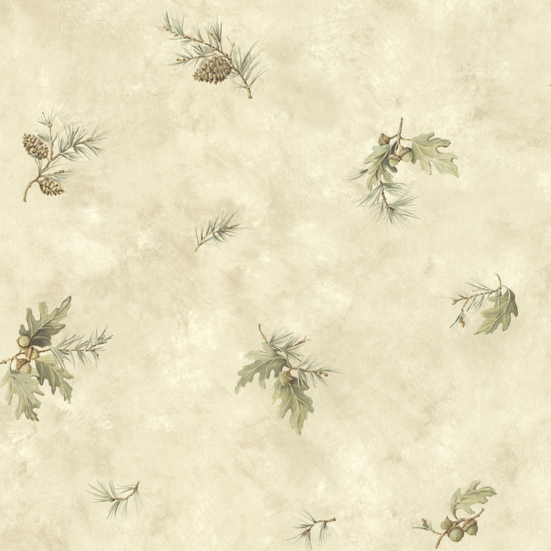 Picture of Brimstone Bone Forest Leaf Toss Wallpaper
